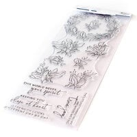 Pinkfresh Studio - Clear Photopolymer Stamps - Indigo Vines