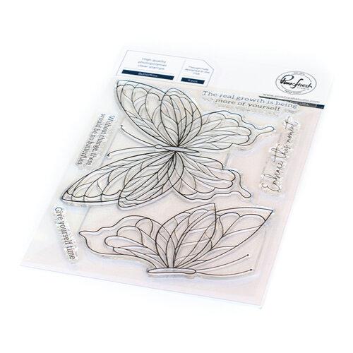 Pinkfresh Studio - Clear Photopolymer Stamps - Butterflies