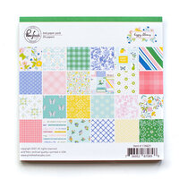 Pinkfresh Studio - Happy Blooms Collection - 6 x 6 Paper Pack