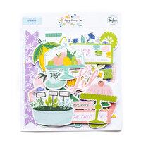 Pinkfresh Studio - Happy Blooms Collection - Ephemera Pack