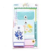 Pinkfresh Studio - Happy Blooms Collection - Journaling Bits