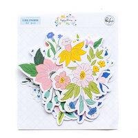 Pinkfresh Studio - Happy Blooms Collection - Floral Ephemera Pack