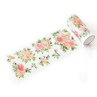 Pinkfresh Studio - Washi Tape - Hydrangea and Rose