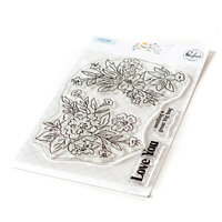 Pinkfresh Studio - Clear Photopolymer Stamps - Happy Blooms