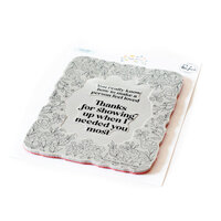 Pinkfresh Studio - Cling Mounted Rubber Stamps - Happy Blooms Frame