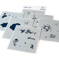 Pinkfresh Studio - Layering Stencils - Best of Everything Floral