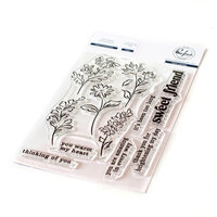 Pinkfresh Studio - Clear Photopolymer Stamps - Sweet Friend Floral