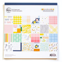 Pinkfresh Studio - The Best Day Collection - 12 x 12 Paper Pad