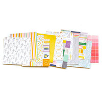 Pinkfresh Studio - The Best Day Collection - 6 x 6 Paper Pad