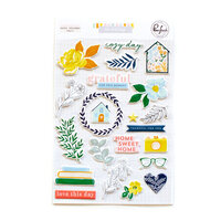 Pinkfresh Studio - The Best Day Collection - Puffy Stickers