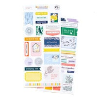 Pinkfresh Studio - The Best Day Collection - Cardstock Stickers