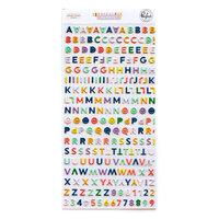 Pinkfresh Studio - The Best Day Collection - Stickers - Mini - Alphabet