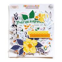Pinkfresh Studio - The Best Day Collection - Floral Ephemera Pack