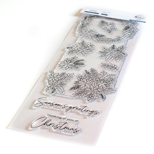Pinkfresh Studio - Christmas - Clear Photopolymer Stamps - Poinsettia
