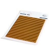 Pinkfresh Studio - Hot Foil Plate - Diagonal Stripes