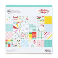 Pinkfresh Studio - Holiday Magic Collection - Christmas - 12 x 12 Paper Pack