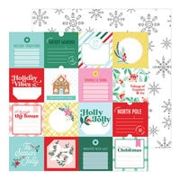 Pinkfresh Studio - Holiday Magic Collection - Christmas - 12 x 12 Double Sided Paper - Tis the Season