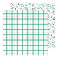 Pinkfresh Studio - Holiday Magic Collection - Christmas - 12 x 12 Double Sided Paper - Good Cheer