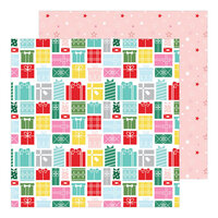 Pinkfresh Studio - Holiday Magic Collection - Christmas - 12 x 12 Double Sided Paper - Greatest Gift