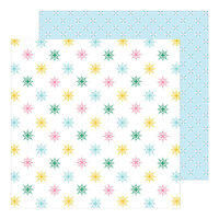 Pinkfresh Studio - Holiday Magic Collection - Christmas - 12 x 12 Double Sided Paper - Wonder and Peace