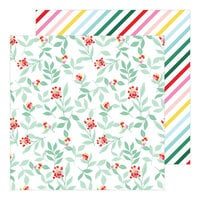 Pinkfresh Studio - Holiday Magic Collection - Christmas - 12 x 12 Double Sided Paper - Feeling Festive
