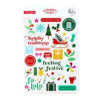 Pinkfresh Studio - Holiday Magic Collection - Christmas - Puffy Stickers