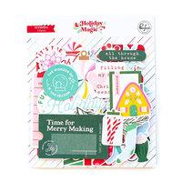Pinkfresh Studio - Holiday Magic Collection - Christmas - Ephemera Pack