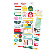 Pinkfresh Studio - Holiday Magic Collection - Christmas - Cardstock Stickers