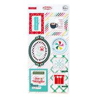 Pinkfresh Studio - Holiday Magic Collection - Christmas - Chipboard Frames