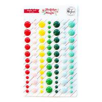 Pinkfresh Studio - Holiday Magic Collection - Christmas - Enamel Dots