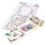 Pinkfresh Studio - Washi Tape and Die Set - Anemone Magic Bundle