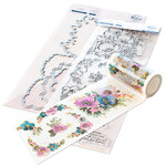 Pinkfresh Studio - Clear Photopolymer Stamps, Washi Tape and Die Set - Anemone Magic Complete Bundle