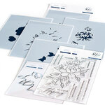 Pinkfresh Studio - Clear Photopolymer Stamps, Layering Stencils and Die Set - Choose Hope Complete Bundle