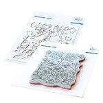 Pinkfresh Studio - Cling Mounted Rubber Stamps and Die Set - Folk Art Birds Bundle