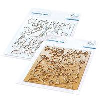 Pinkfresh Studio - Hot Foil Plate and Die Set - Folk Art Birds Bundle
