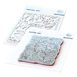 Pinkfresh Studio - Cling Mounted Rubber Stamps and Die Set - Folk Garden Bundle