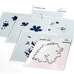 Pinkfresh Studio - Layering Stencils and Die Set - Garden Florals Bundle