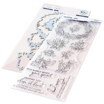 Pinkfresh Studio - Clear Photopolymer Stamps and Die Set - Indigo Vines Bundle