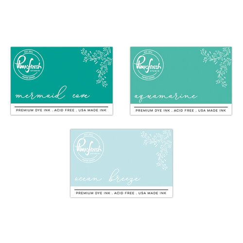 Pinkfresh Studio - Premium Dye Ink Pads - Island Oasis Bundle