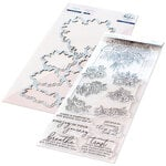 Pinkfresh Studio - Clear Photopolymer Stamps and Die Set - Joyful Bouquet Bundle