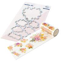 Pinkfresh Studio - Washi Tape and Die Set - Joyful Bouquet Bundle
