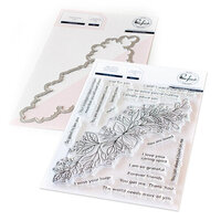 Pinkfresh Studio - Clear Photopolymer Stamps and Die Set - Leafy Decor Bundle