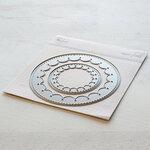 Pinkfresh Studio - Essentials Collection - Dies - Inverted Stitched Scallop Circle