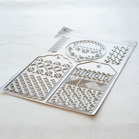 Pinkfresh Studio - Essentials Collection - Dies - Classic Tags with Fillable Elements
