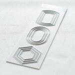Pinkfresh Studio - Essentials Collection - Dies - Basic Label Frames