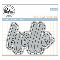 Pinkfresh Studio - Dies - Hello
