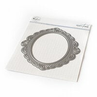Pinkfresh Studio - Essentials Collection - Dies - Ornate Oval Frame