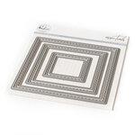 Pinkfresh Studio - Essentials Collection - Dies - Stitched Squares