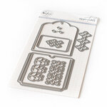 Pinkfresh Studio - Essentials Collection - Dies - Fillable Tag With Pocket