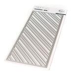 Pinkfresh Studio - Essentials Collection - Dies - Slim Fancy Diagonal Stripes
